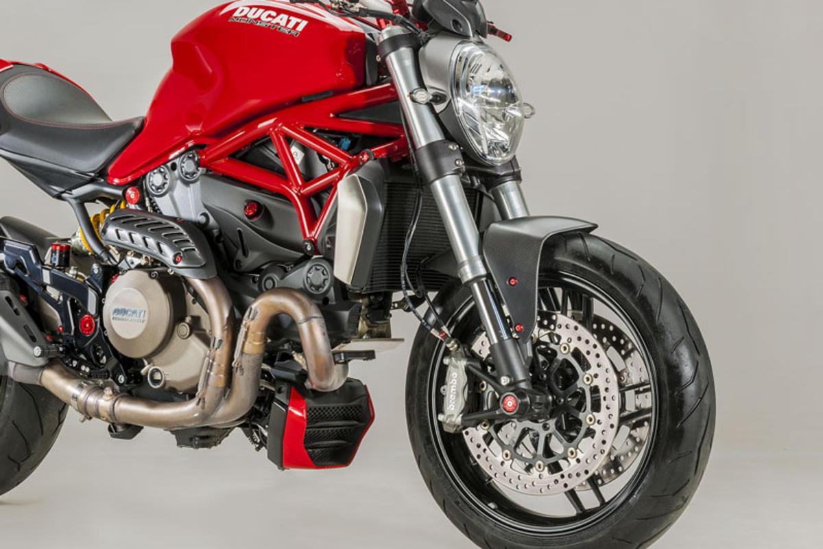 Parafango Anteriore Ducati Monster Carbonio Opaco Cnc Racing