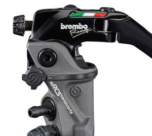 RADIAL BRAKE MASTER CYLINDER BREMBO 19RCS CORSA CORTA FOLD-UP LEVER 18-20 RATIO CNC Racing