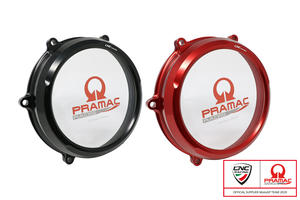Carter trasparente per frizioni ad olio Ducati Panigale V4 - Pramac Racing Limited Edition CNC Racing