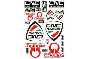 Kit adesivi CNC Racing