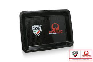 Vassoio attrezzi in carbonio - Pramac Racing Limited Edition CNC Racing