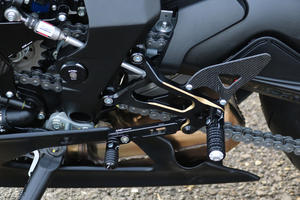 Adjustable rear sets MV Agusta - Bicolor CNC Racing