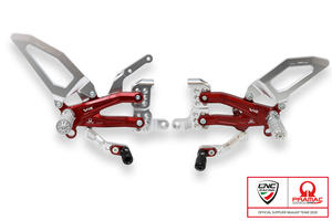 Adjustable rearsets Ducati Streetfighter V4 - Pramac Racing limited Edition CNC Racing