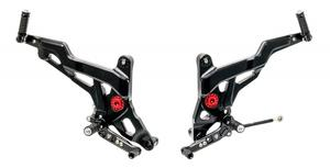 Adjustable rear sets SPORT Ducati Monster 821 1200 1200S CNC Racing