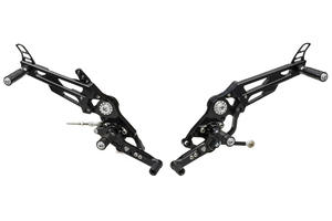 Adjustable rear sets Ducati CNC Racing