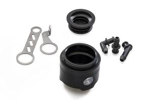 Fluid reservoir front brake 25 ml with level window - only body CNC Racing