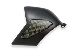 Cover forcellone Ducati Panigale V4 - Carbonio/Kevlar CNC Racing