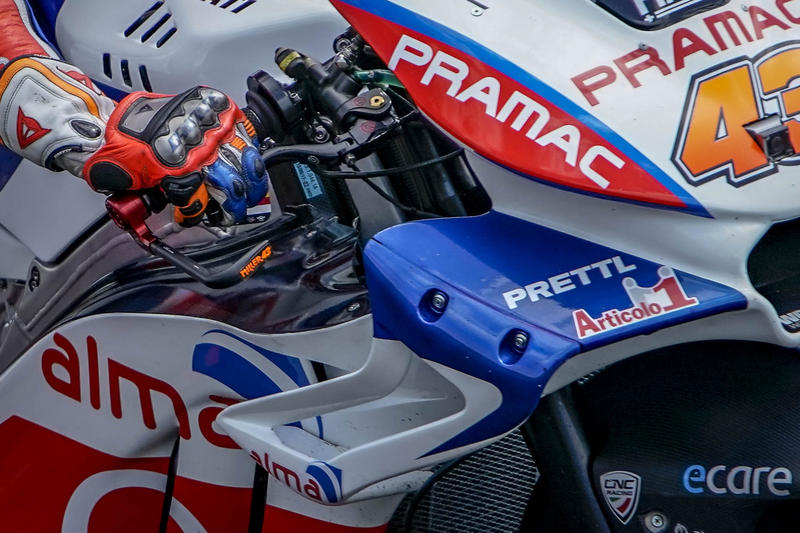 Brake-Guard Race Pramac Racing limited edition - Protezione leva freno anteriore