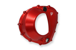 CLEAR CLUTCH COVER MV AGUSTA 4 CYLINDERS <p>Rosso</p>