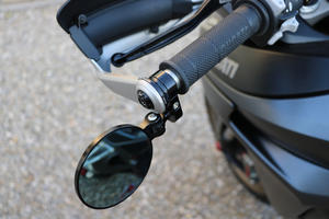 Adapter for Rocket bar-end mirror on Ducati Multistrada <p>Nero</p>