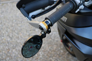 Adapter for Rocket bar-end mirror on Ducati Multistrada Gold