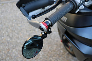 Adapter for Rocket bar-end mirror on Ducati Multistrada <p>Rosso</p>